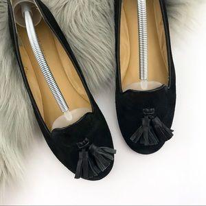 Nine West Suede Tassel Loafers